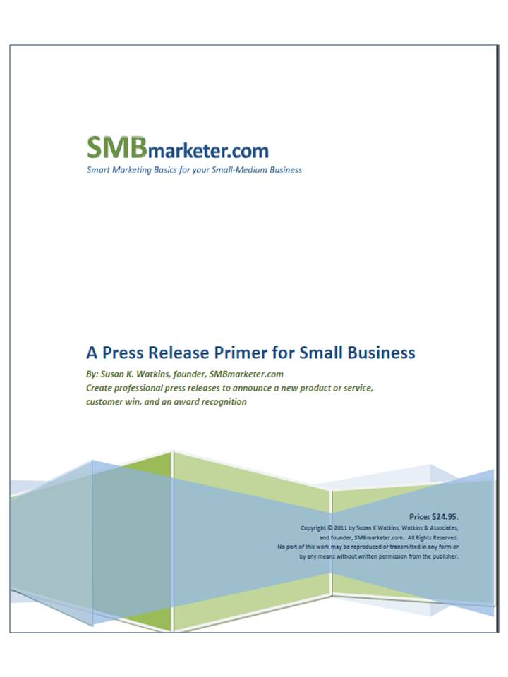 Press Release Templates  Smart Marketing Basics